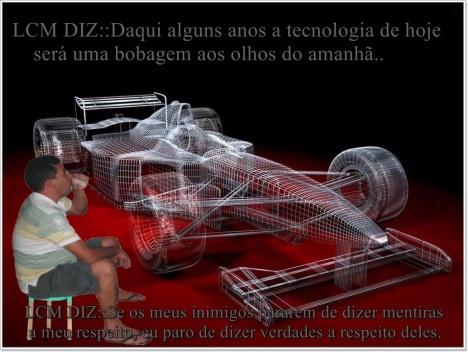 lcm e seu carro de corrida