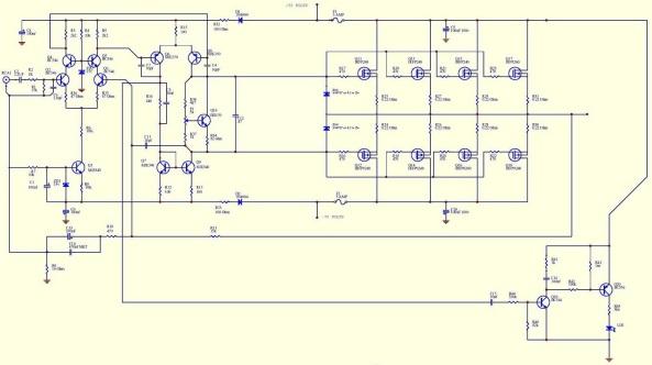 amplificador  de 400w mono