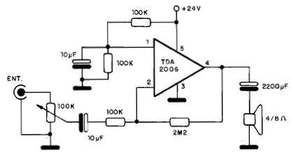 AmplificadorDeAudioTDA2006